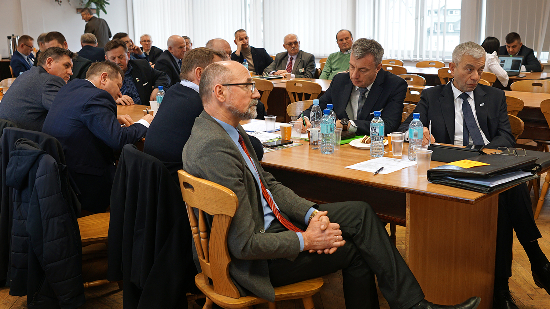 Spotkanie przedstawicieli NSZZ RI Solidarność