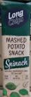 Long Chips - Chipsy z puree ziemniaczanego o smaku szpinakowym