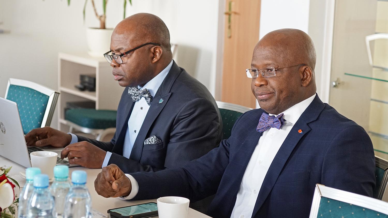 Minister Zasobów Zwierzęcych i Rybnych Republiki Wybrzeża Kości Słoniowej Moussa Dosso