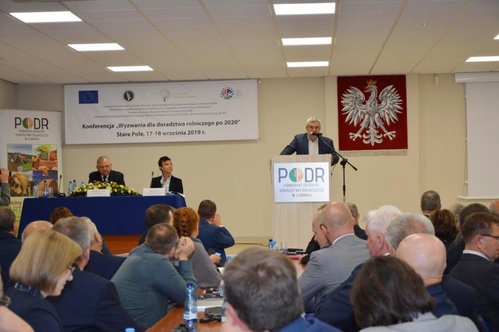 Wystąpienie Ministra Ardanowskiego podczas konferencji w Starym Polu