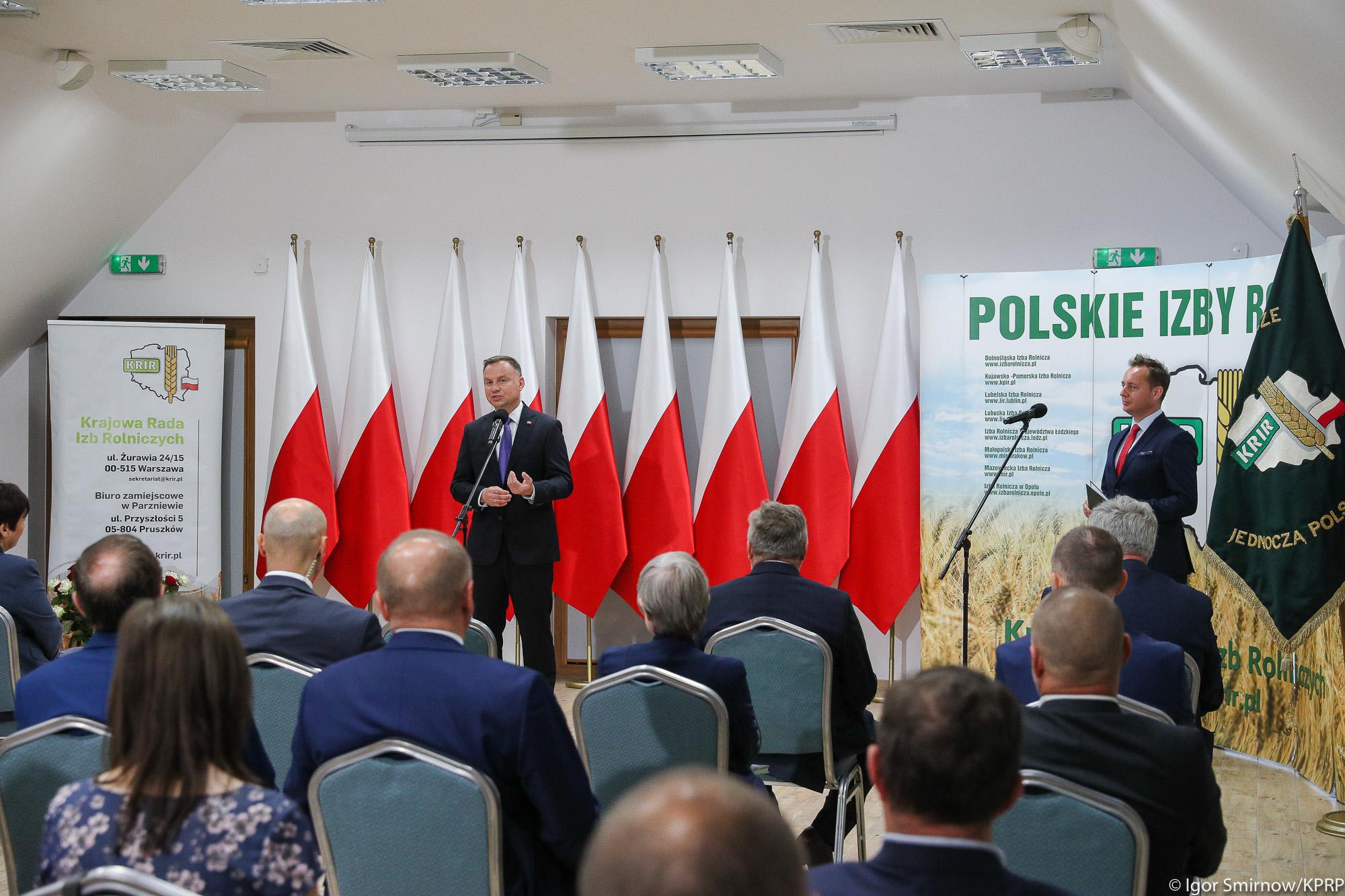 Posiedzenie KRIR z udziałem Prezydenta RP (Fot. Igor Smirnow KPRP)