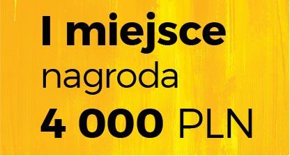 I miejsce nagroda 4 000 PLN