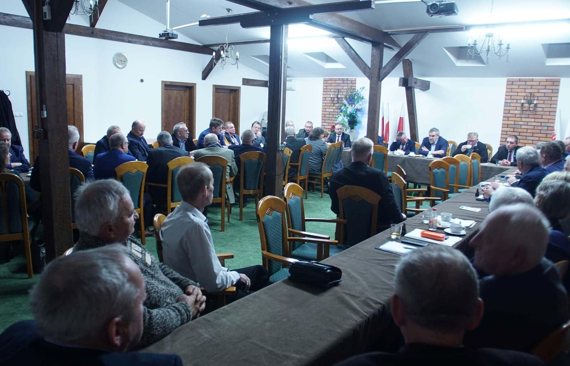 Spotkanie min. J.K. Ardanowskiego z Sekcją Krajową Rolnictwa NSZZ Solidarność