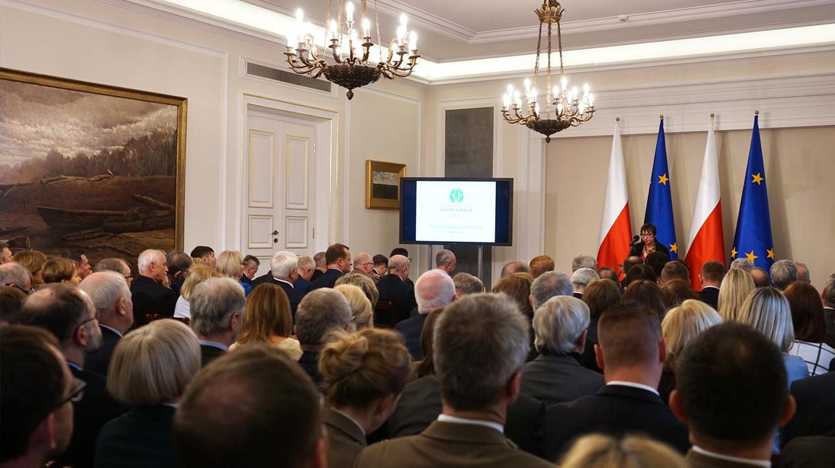 Konferencja inaugurująca rozpoczęcie Międzynarodowego Roku Zdrowia Roślin