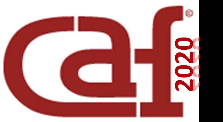 Logotyp CAF2020