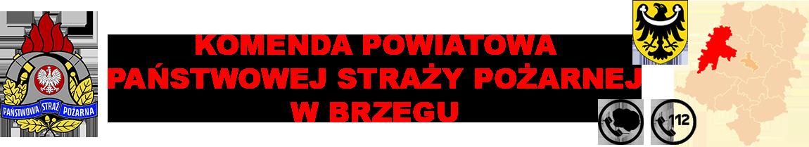 Logo KP PSP Brzeg