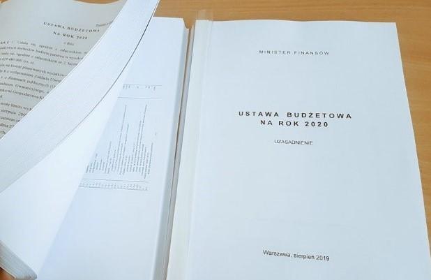 Ustawa budżetowa na rok 2020