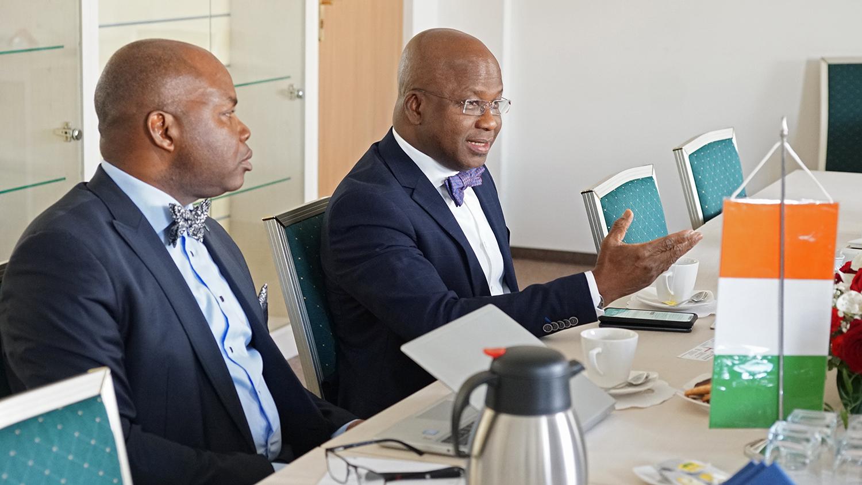 Delegacja Republiki Wybrzeża Kości Słoniowej