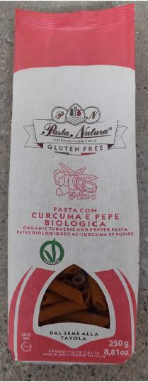 Ostrzeżenie makaron Pasta Natura