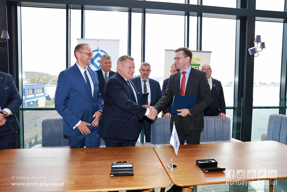 Uroczystość podpisania listu intencyjnego _fot. T. Urbaniak