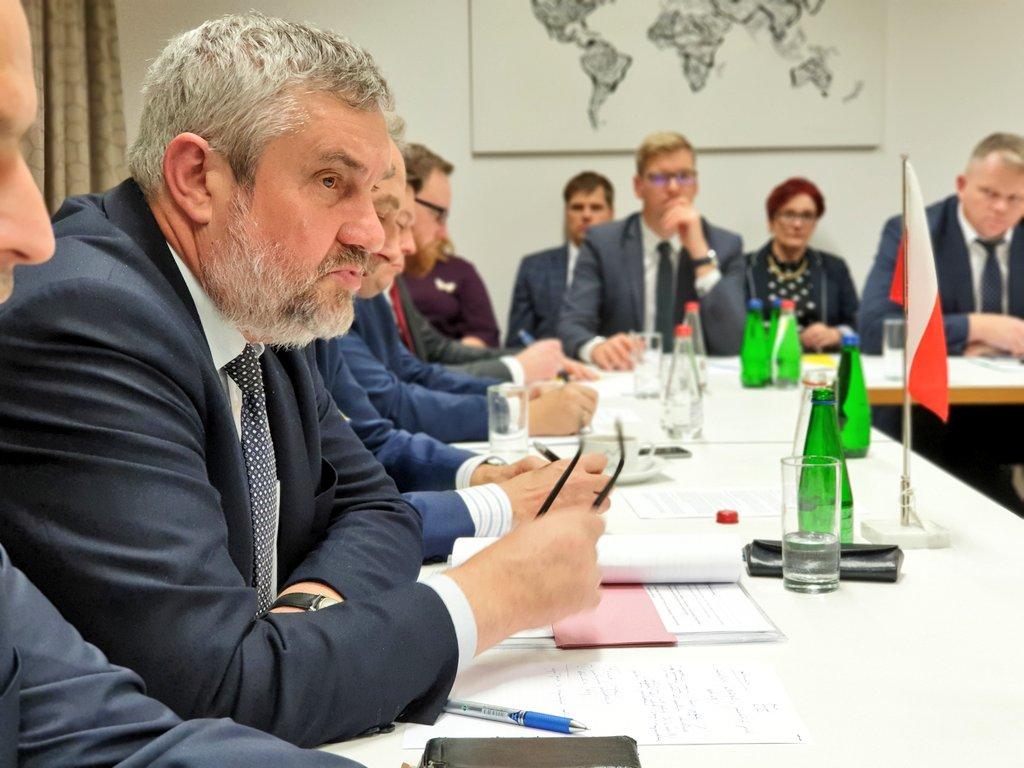 Minister J. K. Ardanowski na spotkaniu Ministrów Rolnictwa Estonii, Łotwy, Litwy i Polski