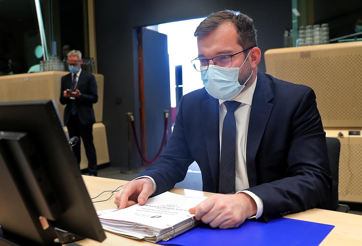 Minister Grzegorz Puda (fot. European Union)