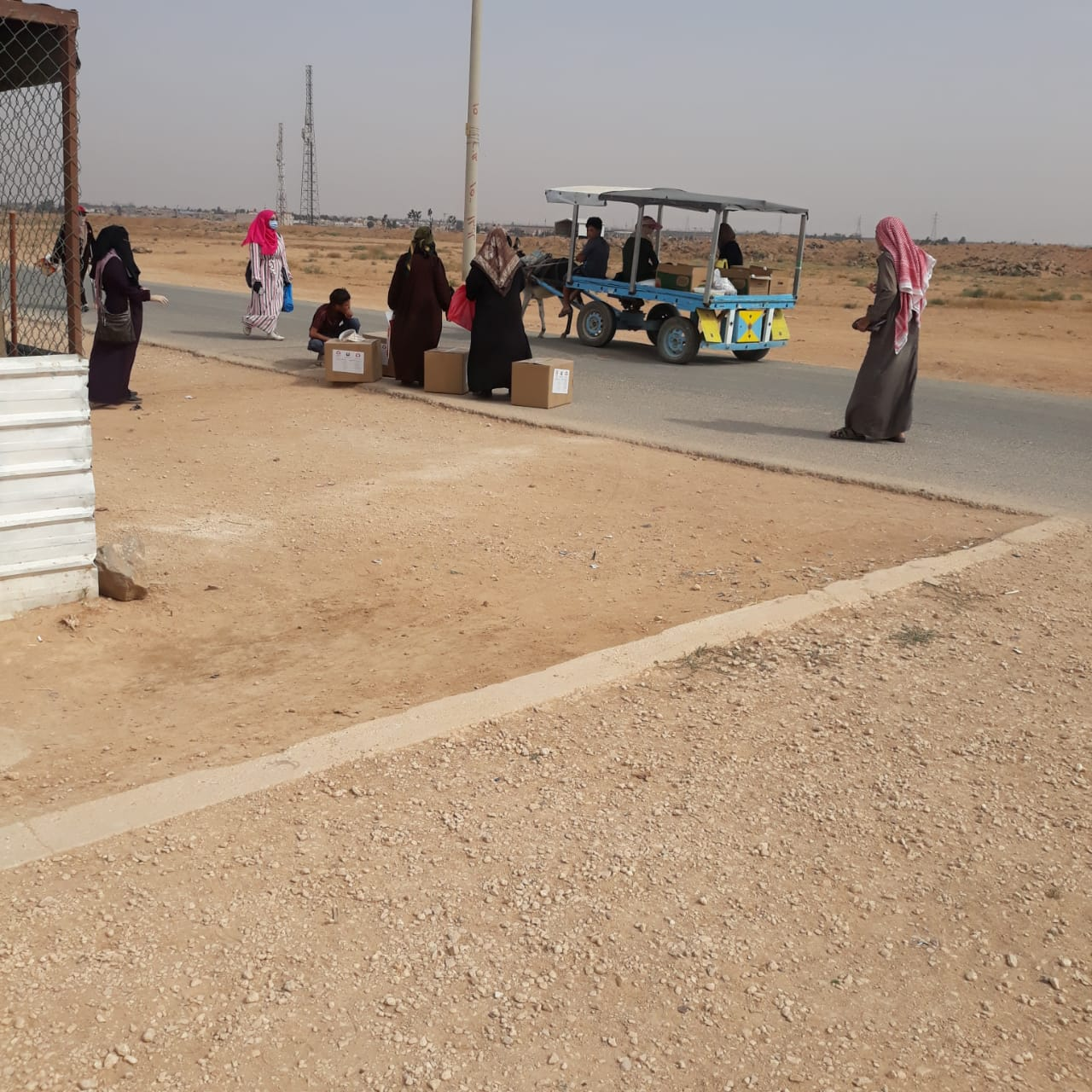 Polish Aid helps to fight the pandemic in the Zaatari refugee camp