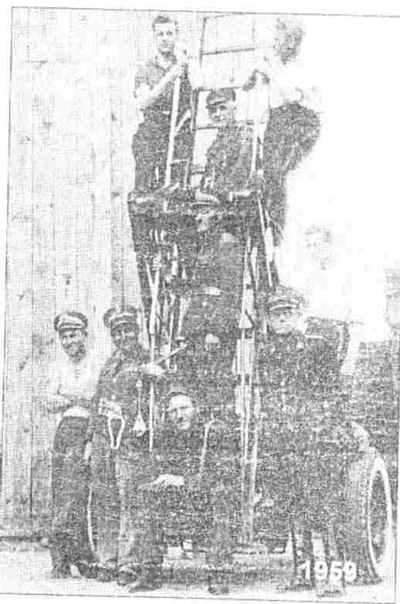 Strażacy Komendy Powiatowej - rok 1959