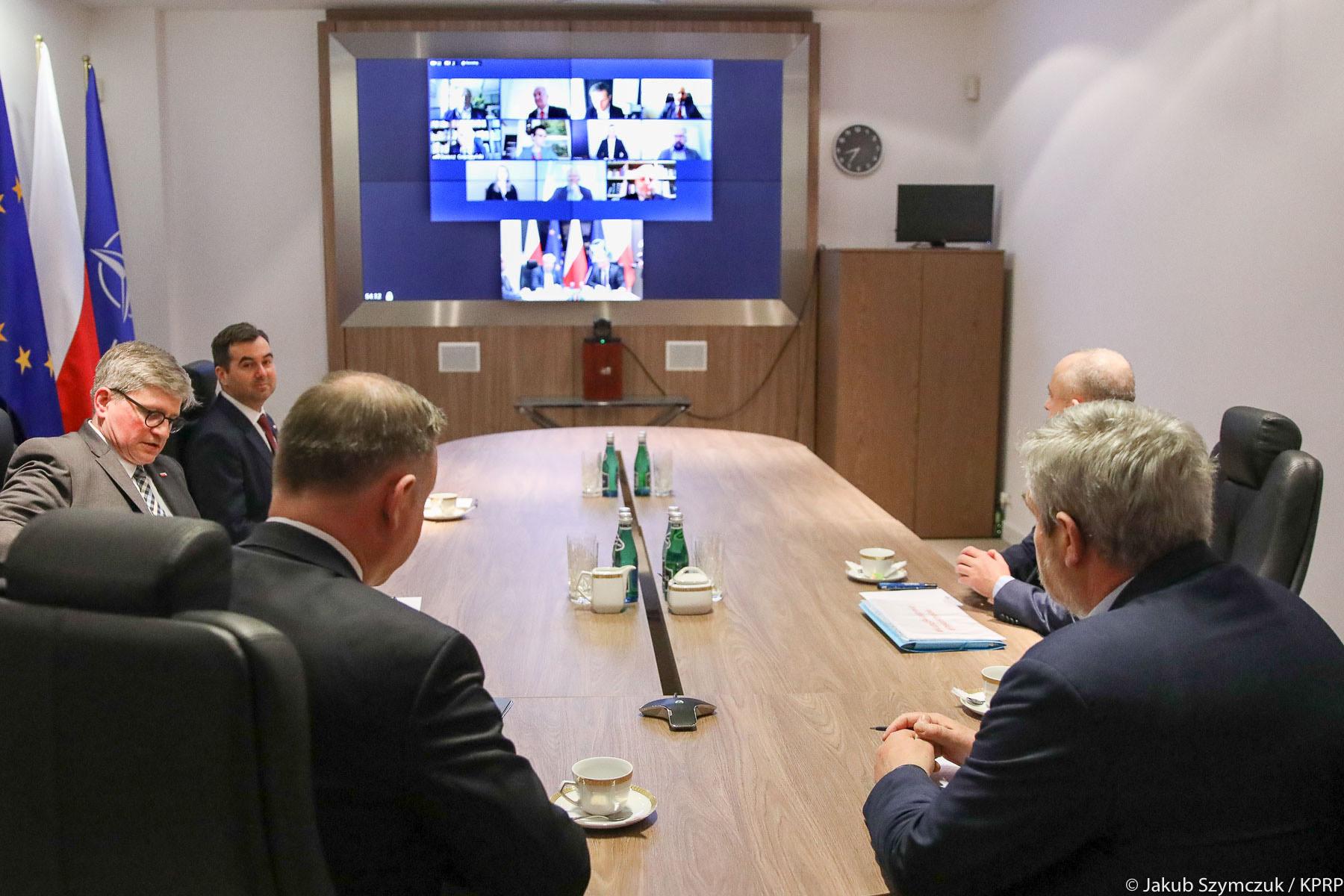 Spotkanie Prezydenta z Ministrem Rolnictwa i Rozwoju Wsi oraz przedstawicieli branż rolniczych