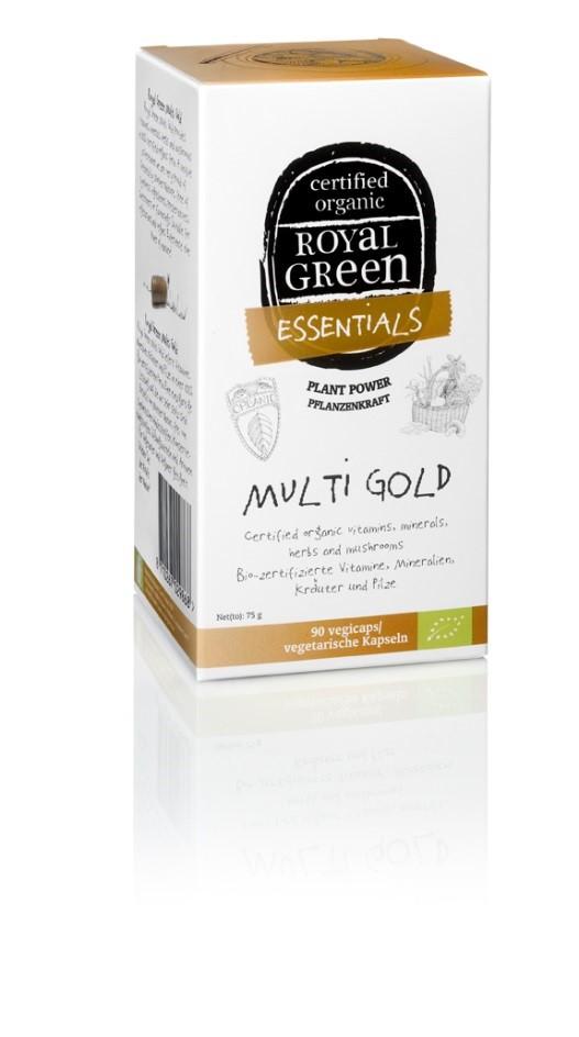 Royal Green Multi Gold