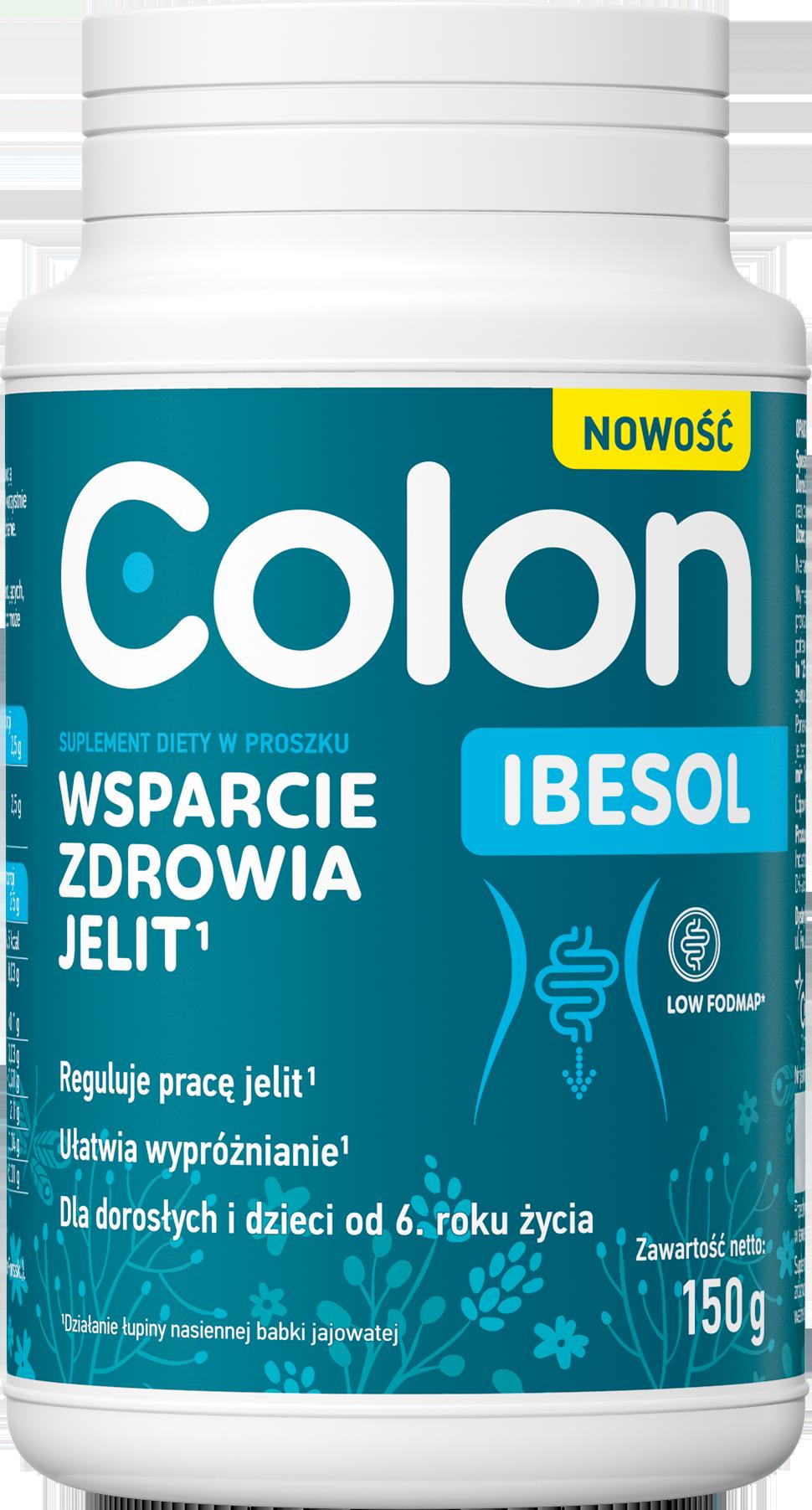 Colon ibesol wsparcie zdrowia jelit 150g