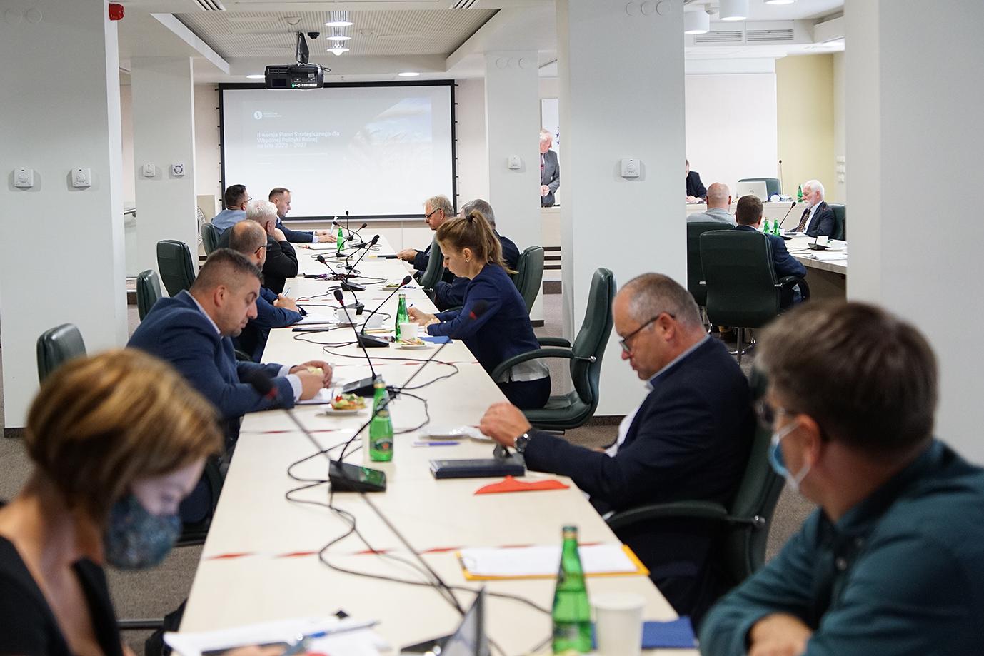 Konsultacje w resorcie rolnictwa dotyczące Planu Strategicznego (fot. MRiRW)