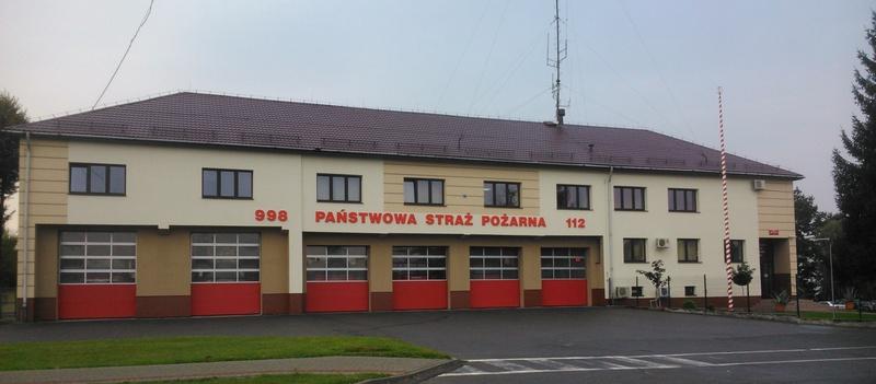 budynek Komendy Powiatowej PSP w Dębicy