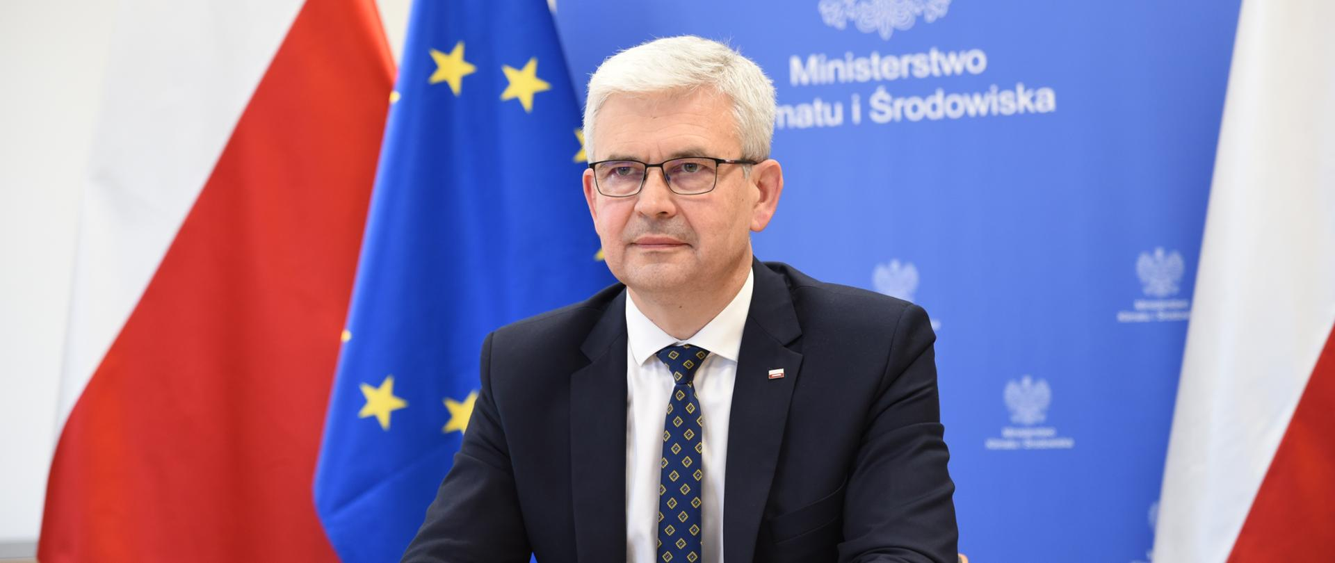 """Wiceminister Ireneusz Zyska na webinarium dotyczącym programu NFOŚiGW """"Nowa energia"""""""