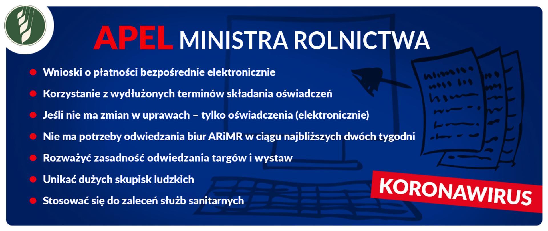 Apel ministra Jana Krzysztofa Ardanowskiego