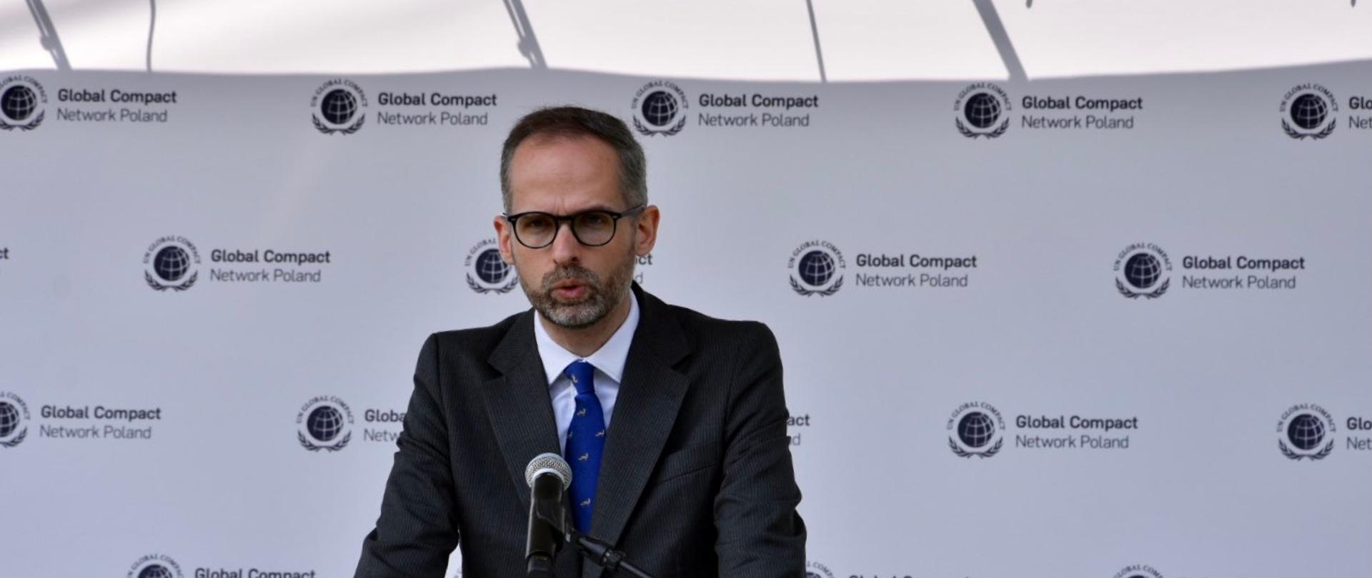 Wiceminister Adam Guibourgé-Czetwertyński o roli energetyki wiatrowej w transformacji energetycznej