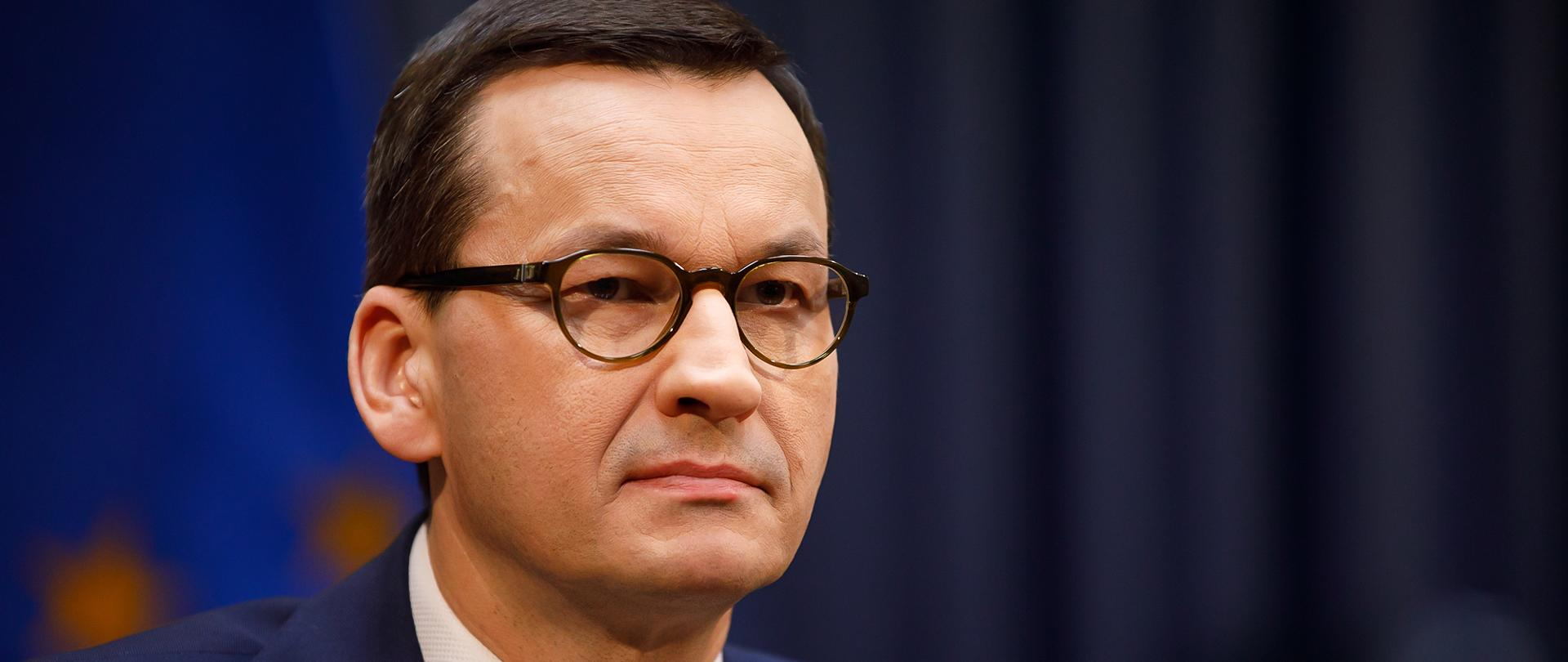 Prime Minister of the Republic of Poland Mateusz Morawiecki