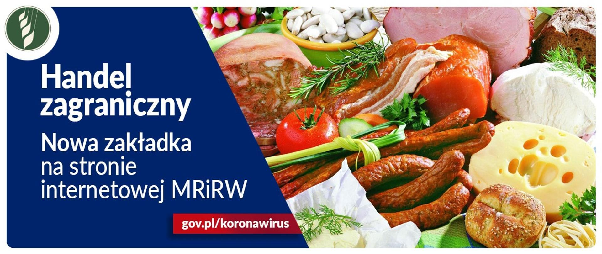 Handel zagraniczny. Możliwości zakupu produktów rolno-spożywczych w Polsce – nowa zakładka na stronie internetowej MRiRW