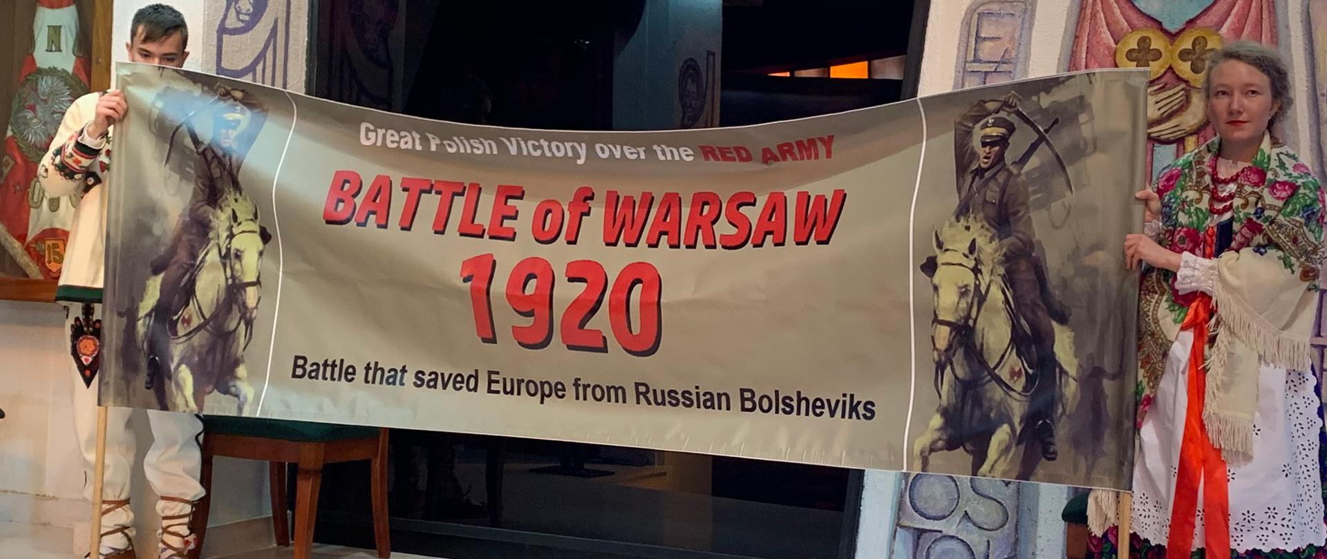Celebration of the 100th anniversary of the Battle of Warsaw in Australia