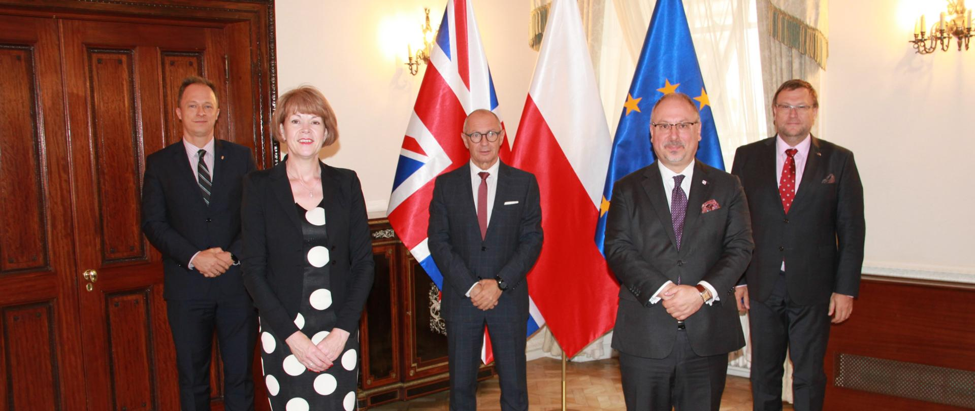 Meeting of V4 Ambassador with UK Europe Minister Wendy Morton