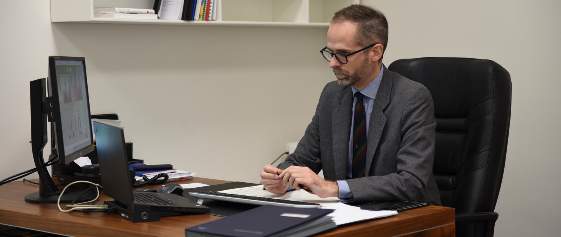 Wiceminister Adam Guibourgé-Czetwertyński na konferencji Europejskiej Inicjatywy Klimatycznej