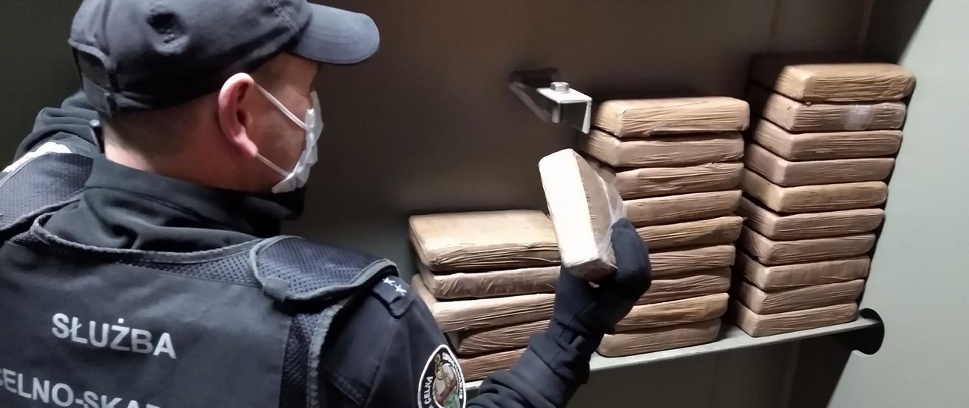 Польские спецслужбы задержали кокаина на 25 млн злотых