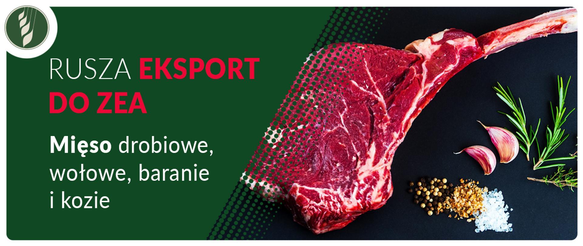 Rusza eksport do ZEA – mięso drobiowe, wołowe, baranie i kozie