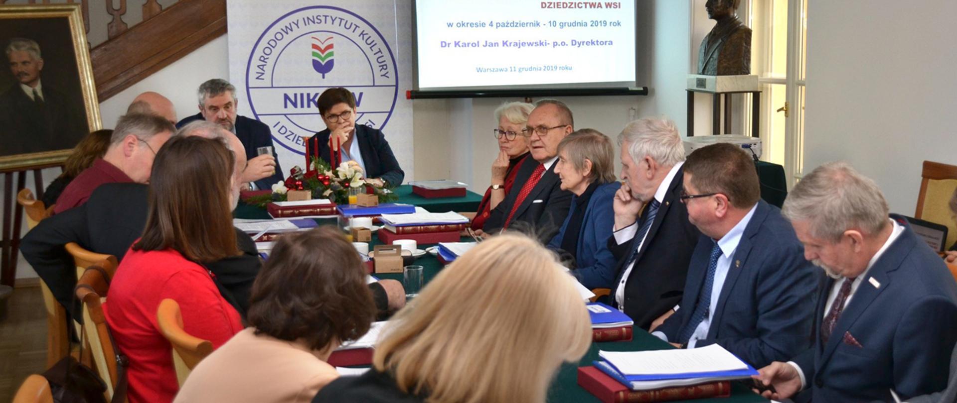 O działalności Narodowego Instytutu Kultury i Dziedzictwa Wsi