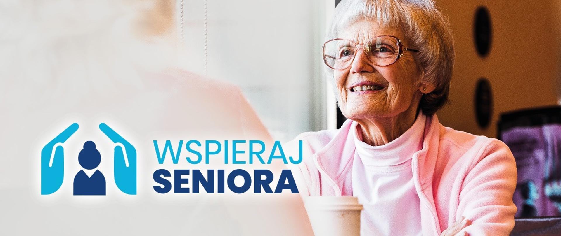 Logo akcji Wspieraj Seniora
