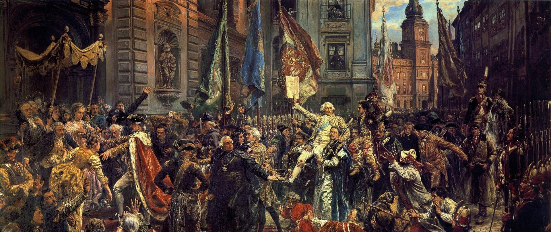 Constitution of 3 May – painting by Jan Matejko (1838–1893)