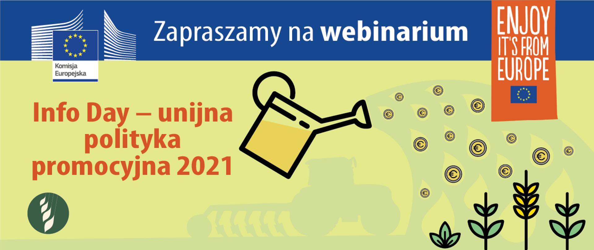 Info Day – unijna polityka promocyjna 2021