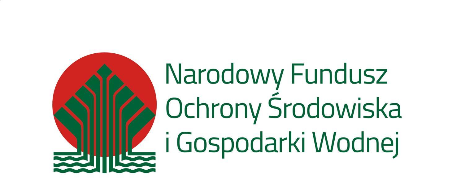 Logotyp Narodowy Fundusz Ochrony Środowiska i Gospodarki Wodnej (NFOŚiGW)