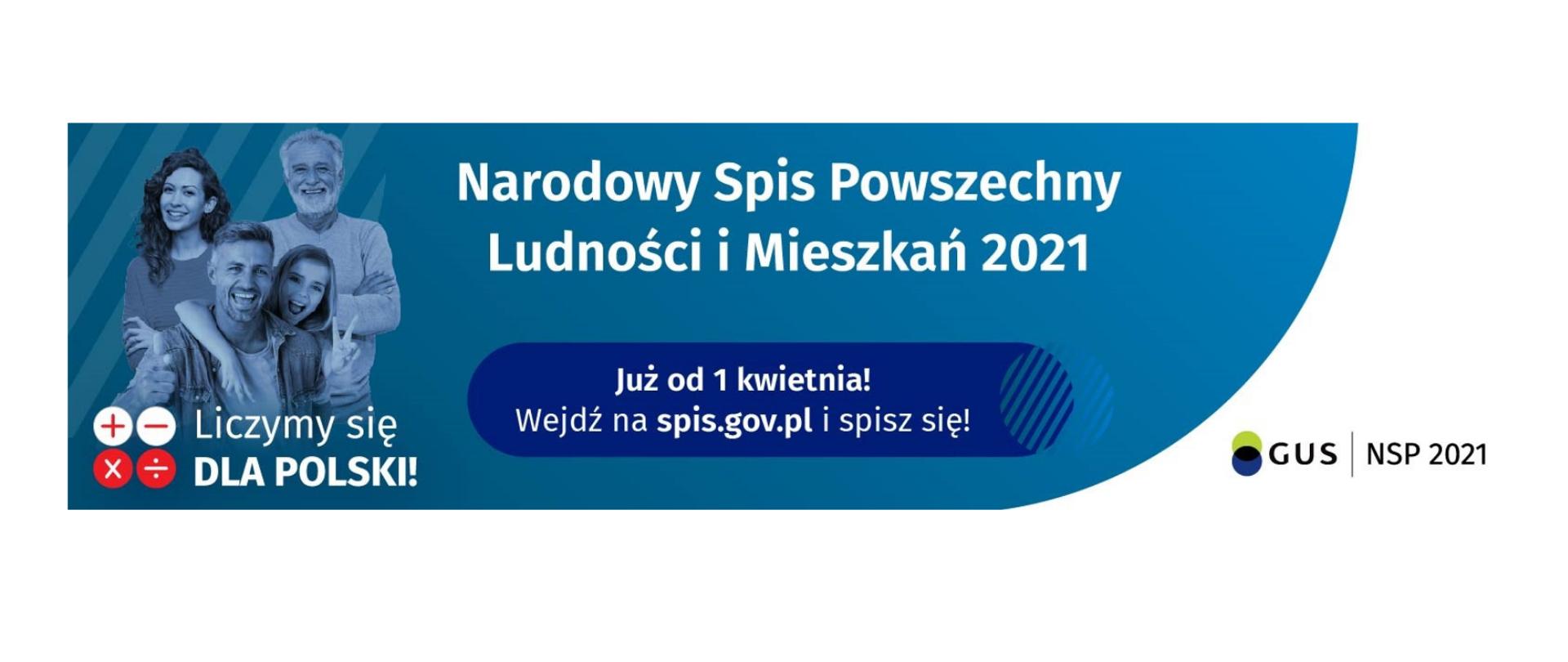 Narodowy Spis Powszechny 2021 – Policzmy się dla Polski! - Mazowiecki Urząd  Wojewódzki w Warszawie - Portal Gov.pl