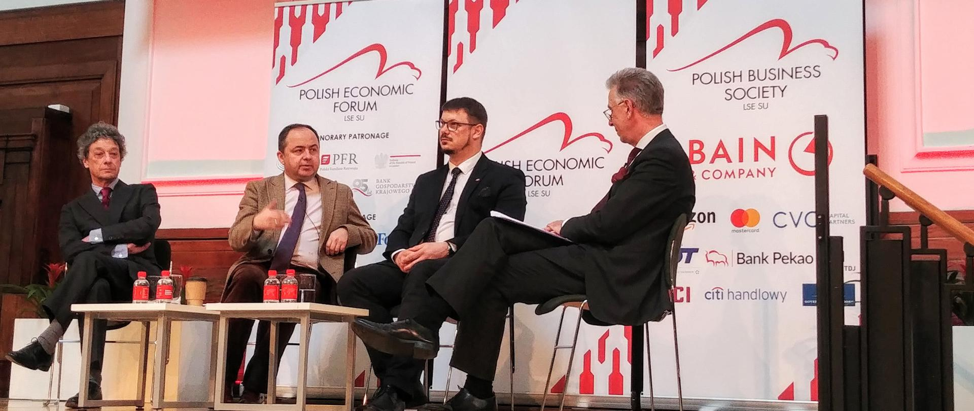 Deputy Minister Konrad Szymański attends LSE Polish Economic Forum in London