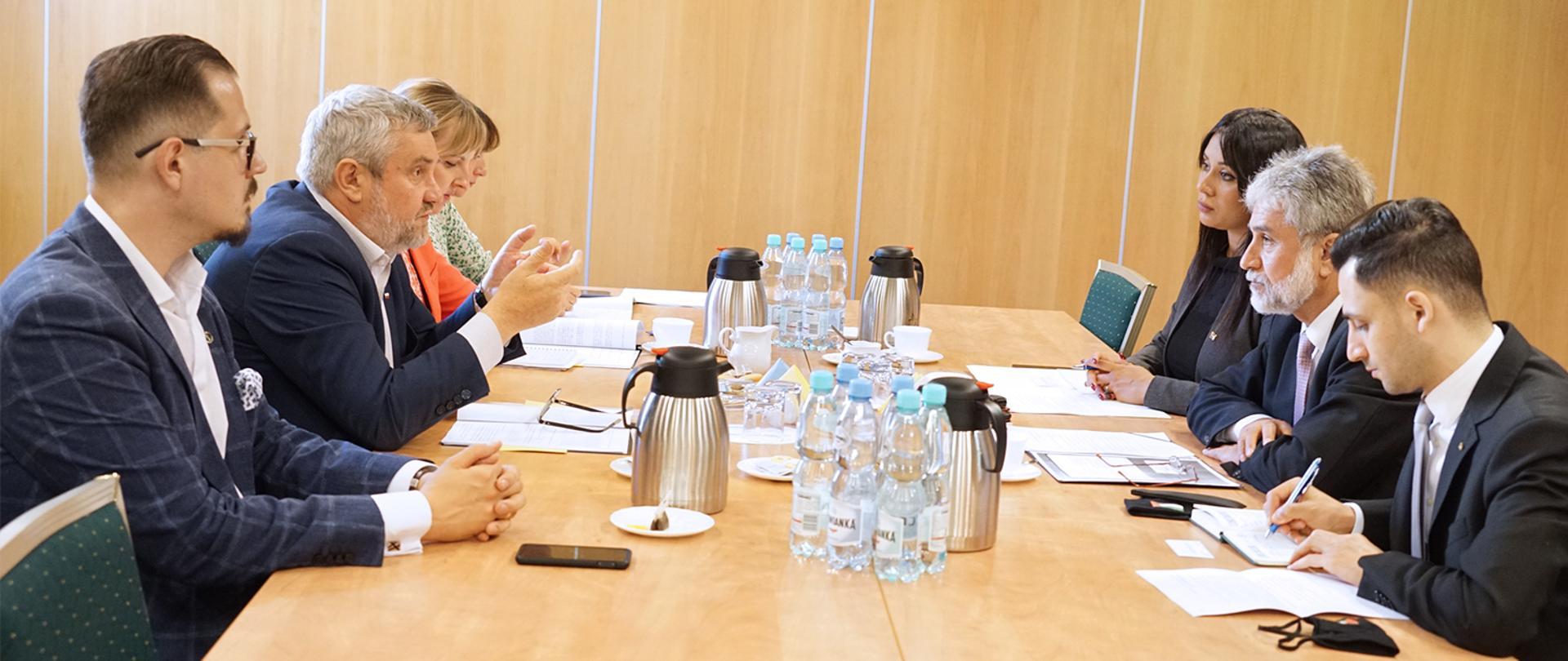 O współpracy w dziedzinie rolnictwa z Ambasadorem Palestyny
