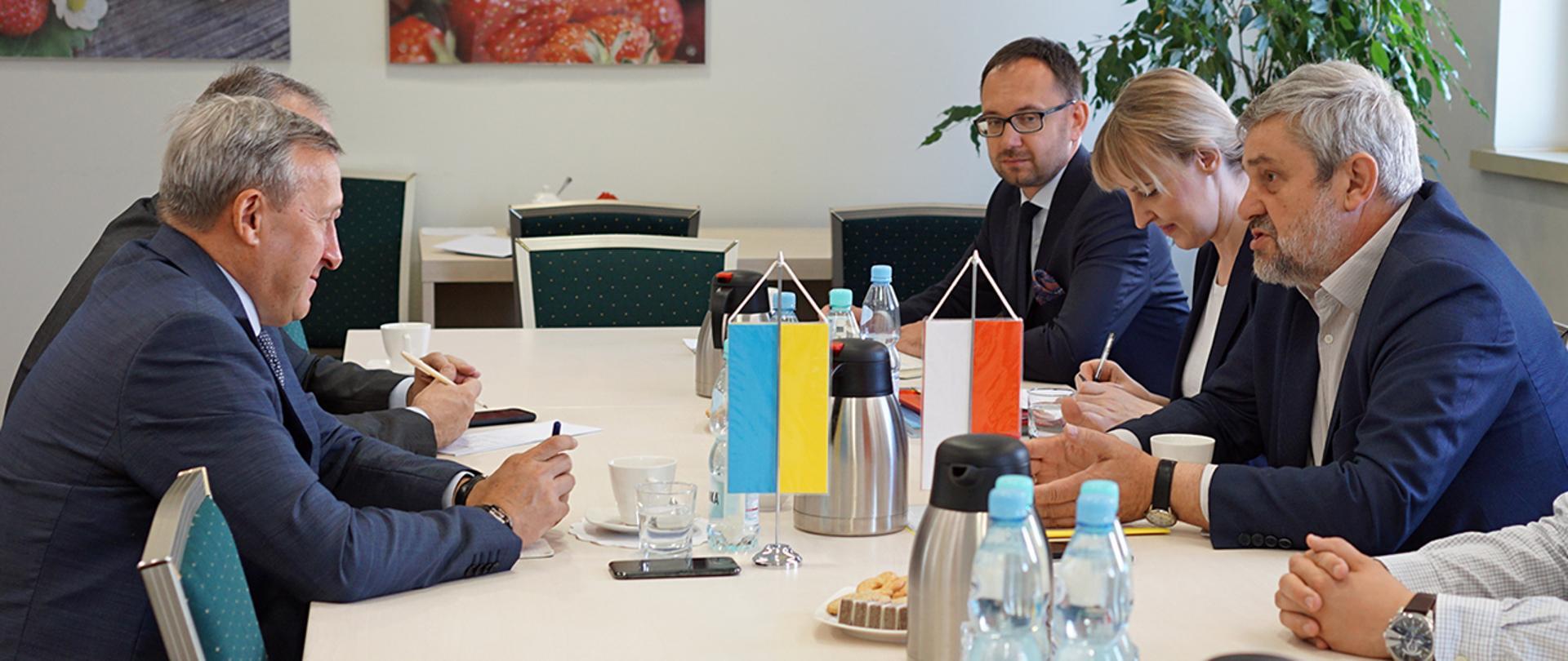 Spotkanie z Ambasadorem Ukrainy
