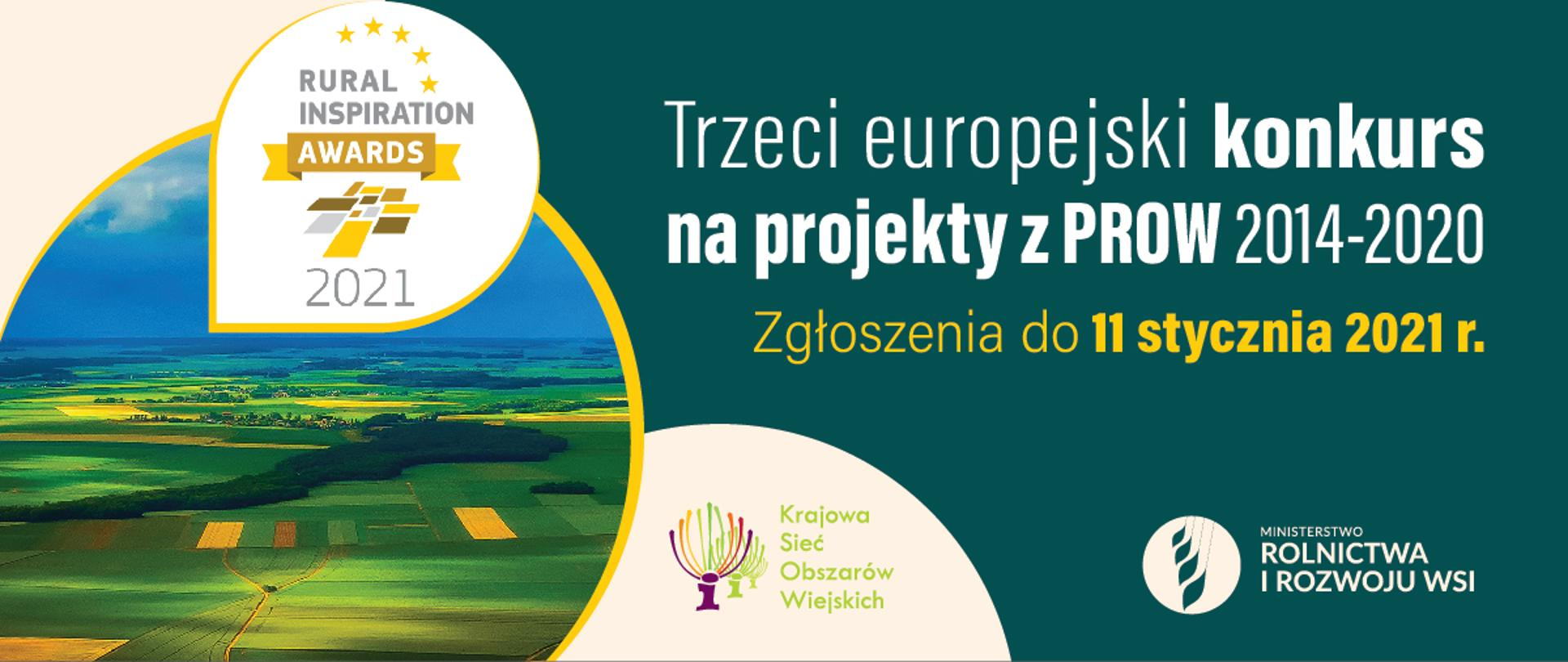 Zapraszamy do udziału w trzecim europejskim konkursie na projekty z PROW 2014-2020