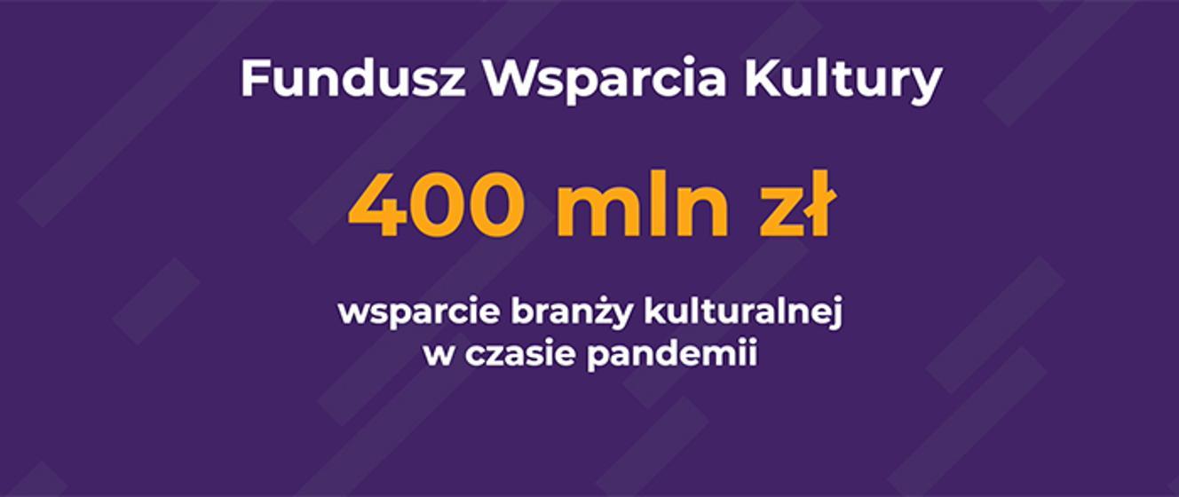 Ponad dwa tysiące podmiotów otrzyma pomoc z Funduszu Wsparcia Kultury - Ministerstwo Kultury i Dziedzictwa Narodowego - Portal Gov.pl