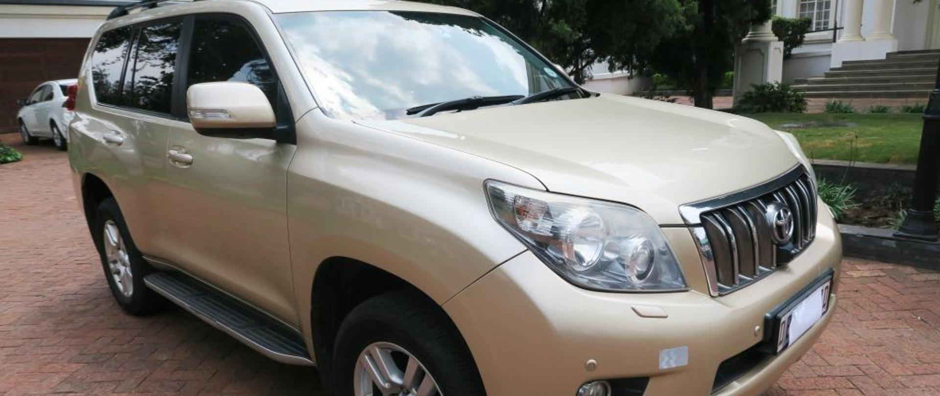 The Embassy of the Republic of Poland in Pretoria announces a tender for the sale of Toyota Prado