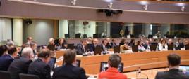 Minister klimatu Michał Kurtyka na Radzie ENVI