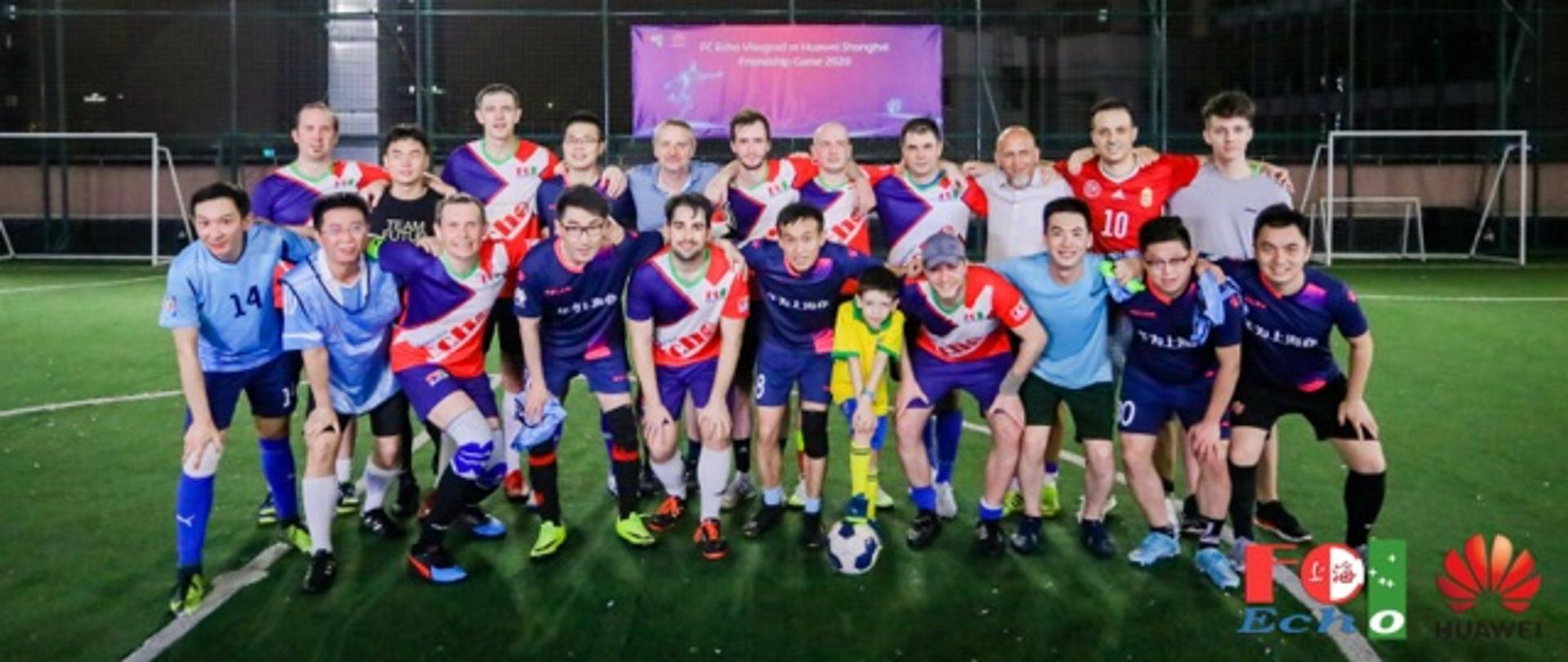The V4 football game in Shanghai