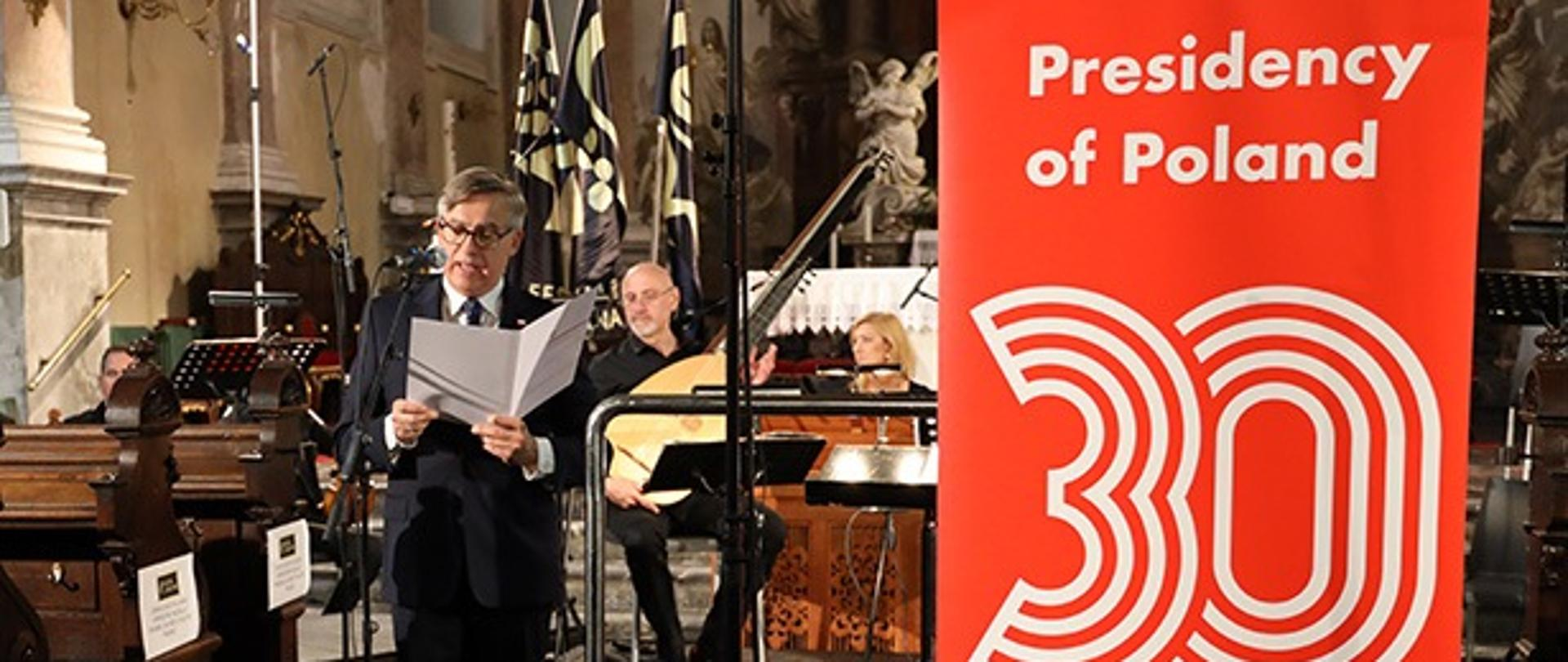 Polish baroque music inaugurates in Ljubljana the Polish presidency of the Visegrad Group