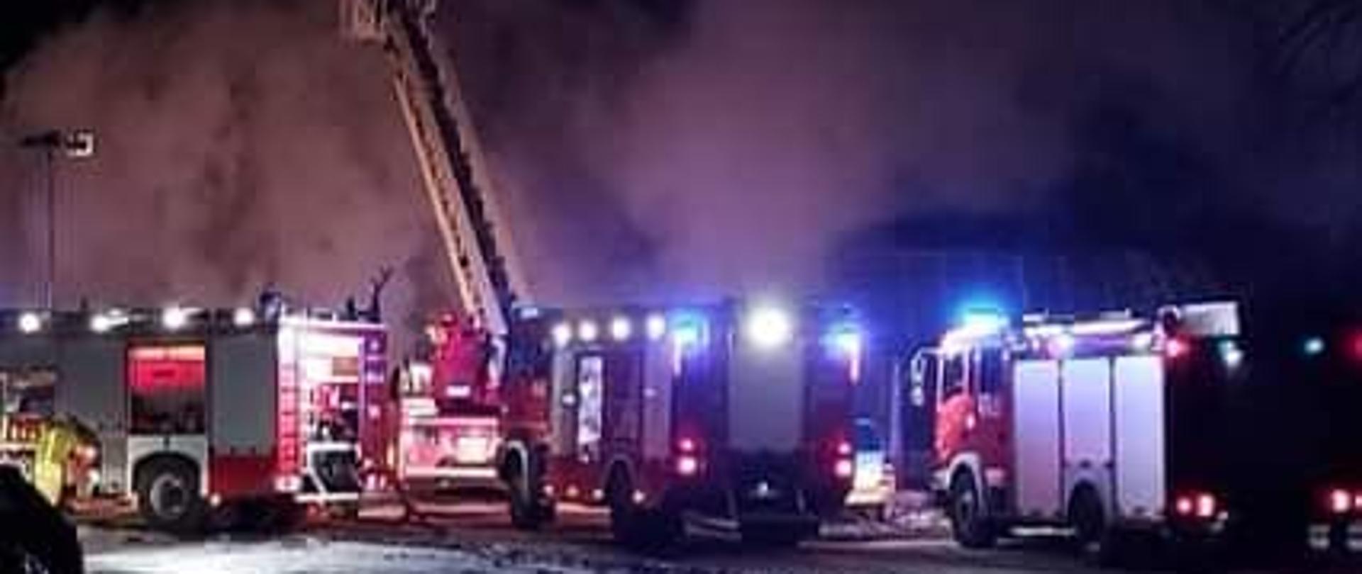 Pożar domu jednorodzinnego w Sokołowie Budzyńskim.