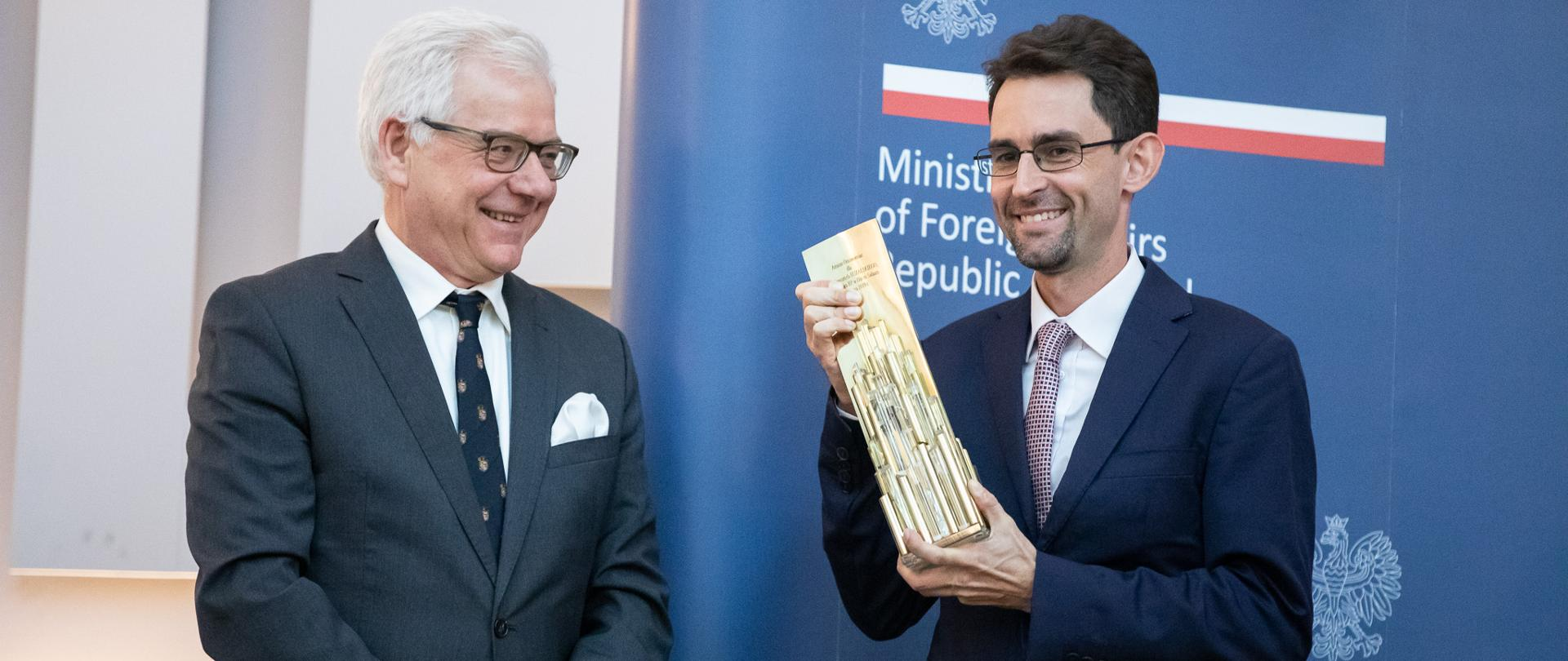 Minister Jacek Czaputowicz meets with Polish businesses